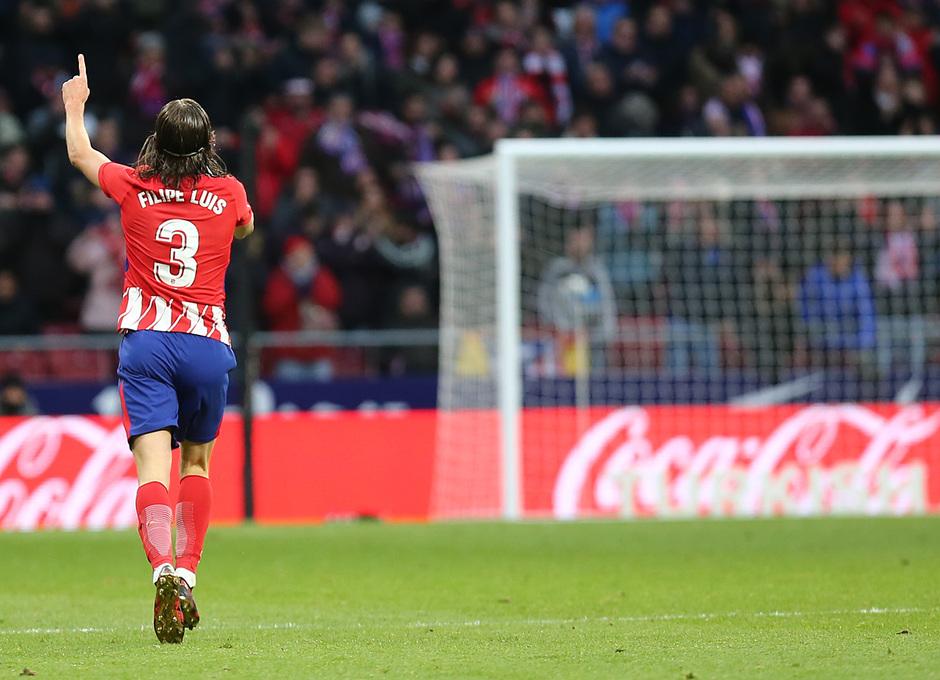 Temporada 17/18 | Atlético - Real Sociedad | Filipe Luis