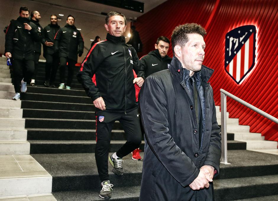 Temp. 2017-2018. Atlético de Madrid-Real Sociedad. Simeone
