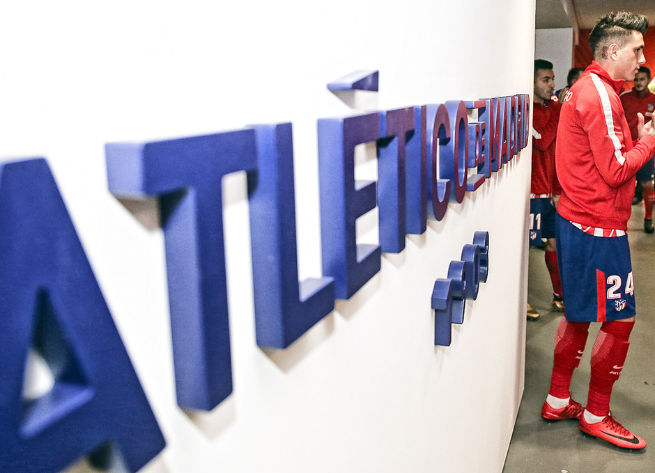 Temp. 2017-2018. Atlético de Madrid-Real Sociedad. Giménez