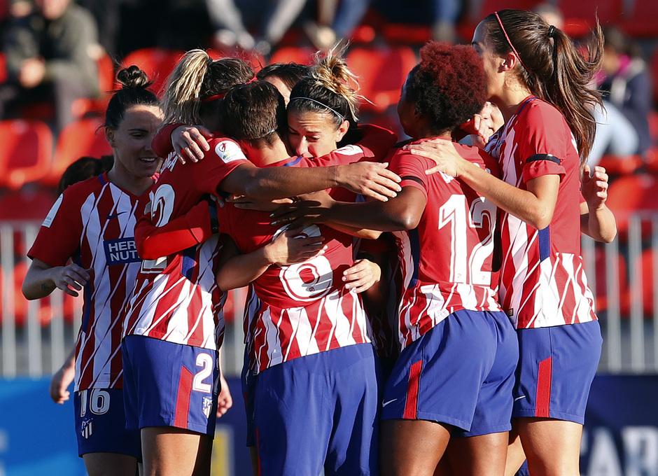 Temp. 17/18 | Atlético de Madrid Femenino - Sevilla FC | Celebración