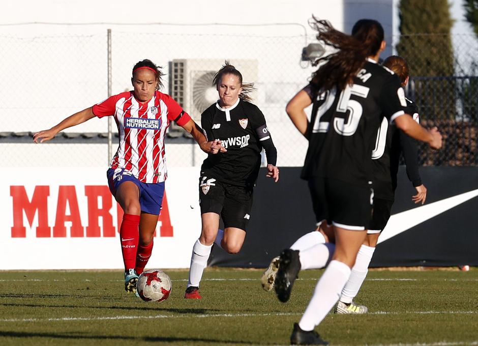 Temp. 17/18 | Atlético de Madrid Femenino - Sevilla FC | Mónica