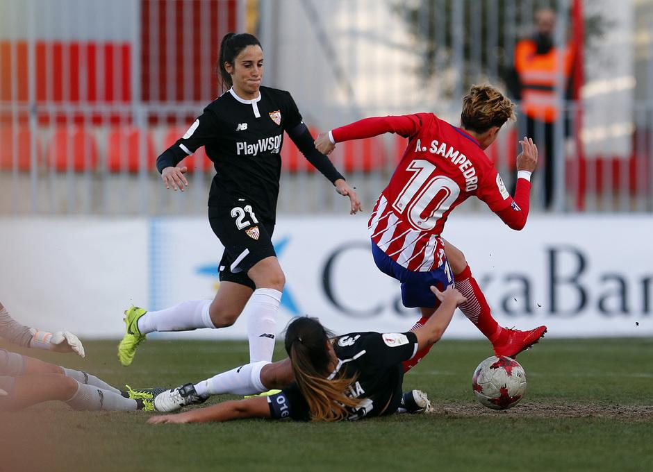Temp. 17/18 | Atlético de Madrid Femenino - Sevilla FC | Amanda
