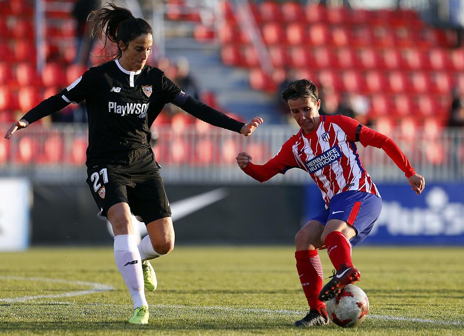 Temp. 17/18 | Atlético de Madrid Femenino - Sevilla FC | Sonia