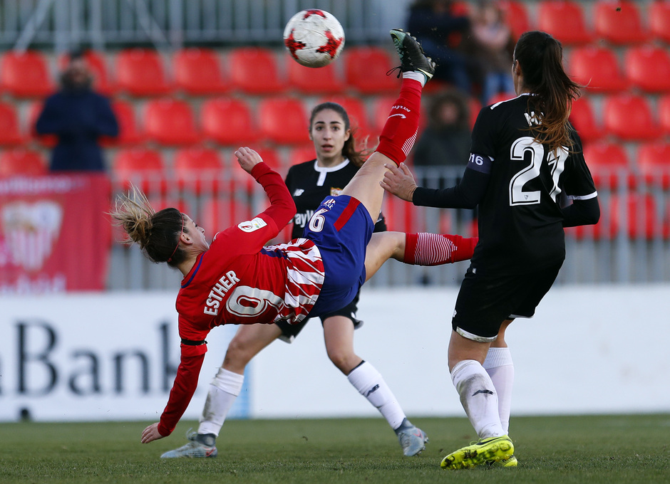 Temp. 17/18 | 	Atlético de Madrid Femenino - Sevilla FC | Esther