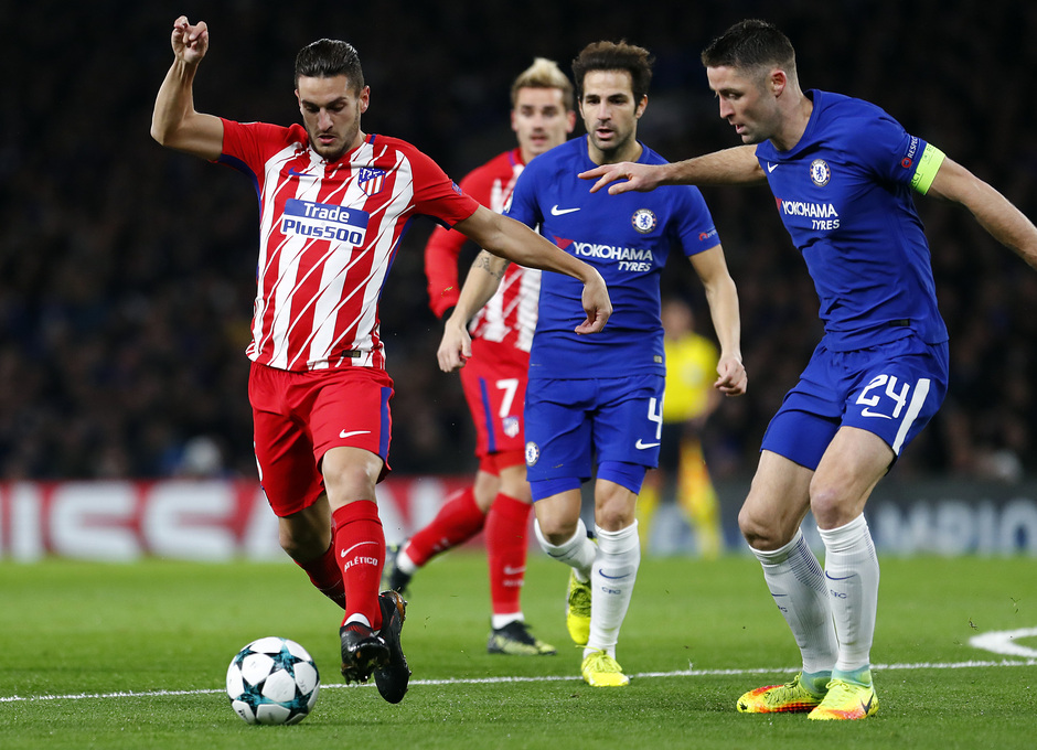 Temp. 17/18 | Chelsea - Atlético de Madrid | Koke