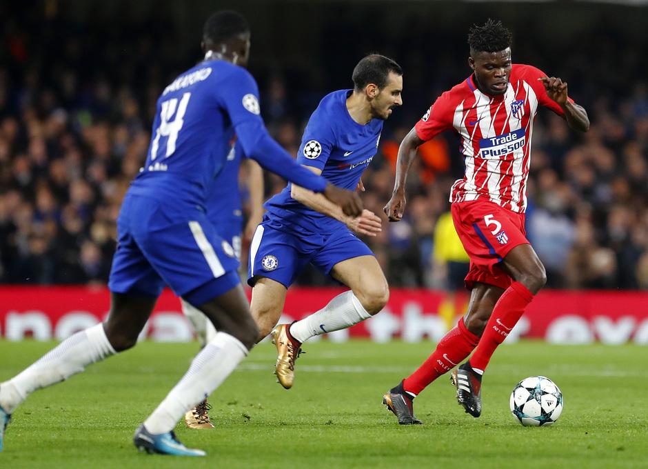 Temp. 17/18 | Chelsea - Atlético de Madrid | Thomas