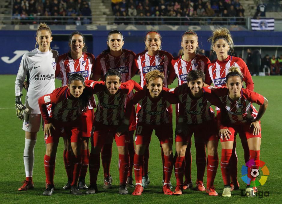 Temp. 17-18 | Espanyol-Atlético de Madrid Femenino | Once