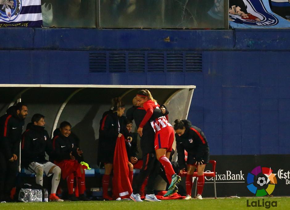 Temp. 17-18 | Espanyol-Atlético de Madrid Femenino | Celebración