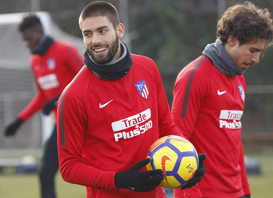 Temporada 17/18. Entrenamiento 08/12/17 | Carrasco