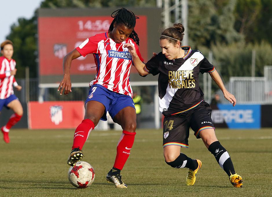 Temp. 17-18 | Atlético de Madrid Femenino-Rayo Vallecano | Ludmila