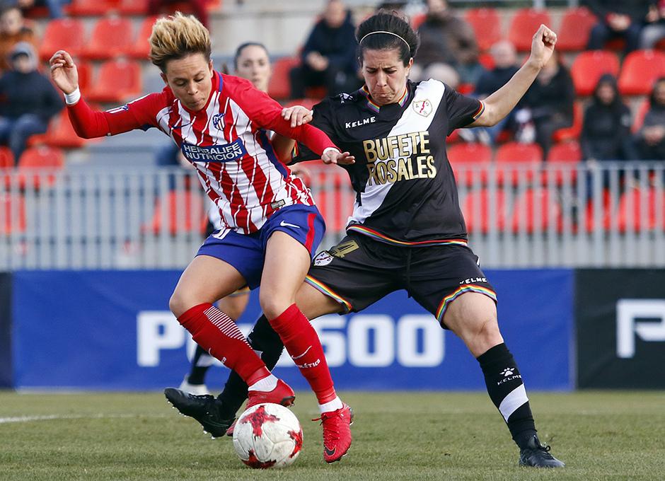 Temp. 17-18 | Atlético de Madrid Femenino-Rayo Vallecano | Amanda