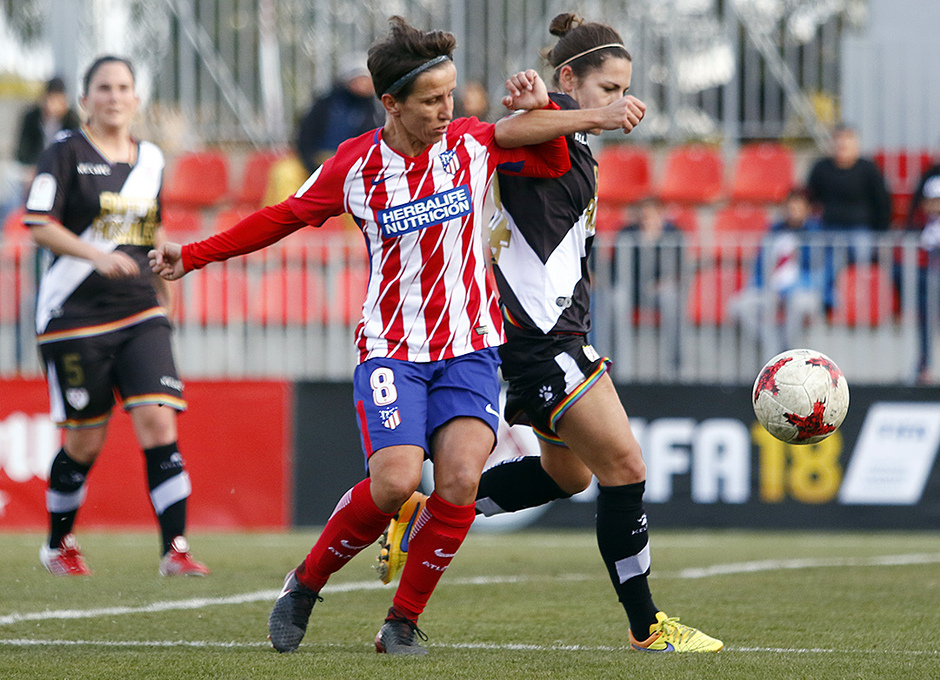 Temp. 17-18 | Atlético de Madrid Femenino-Rayo Vallecano | Sonia