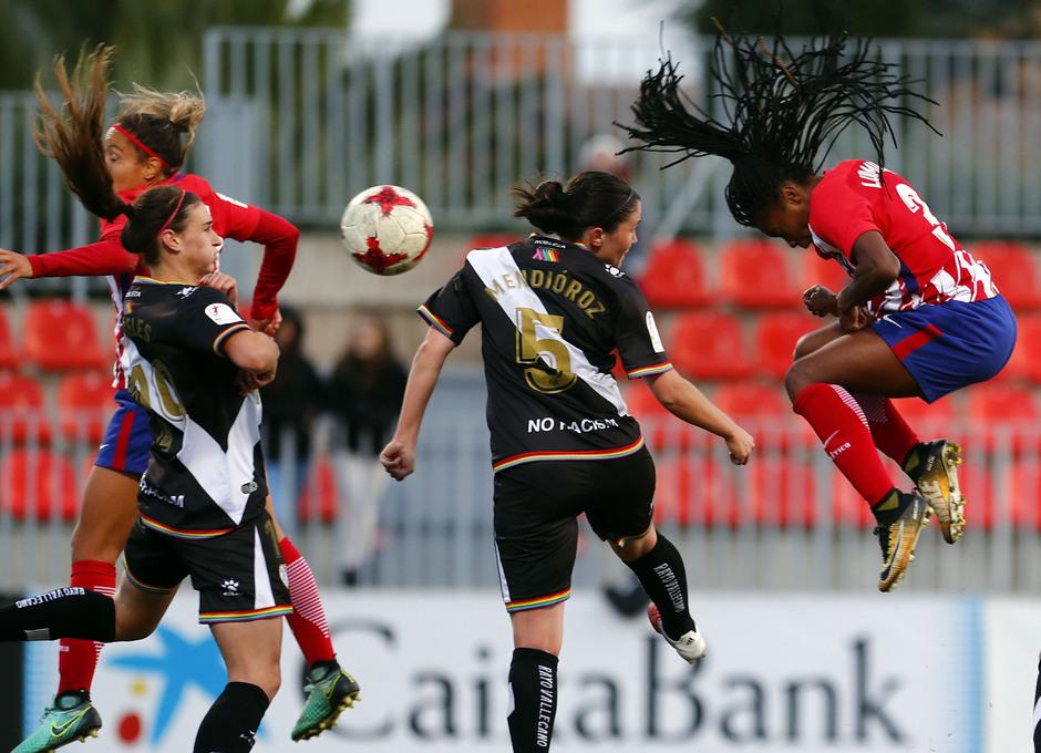 Temp. 17-18 | Atlético de Madrid Femenino - Rayo Vallecano | Ludmila