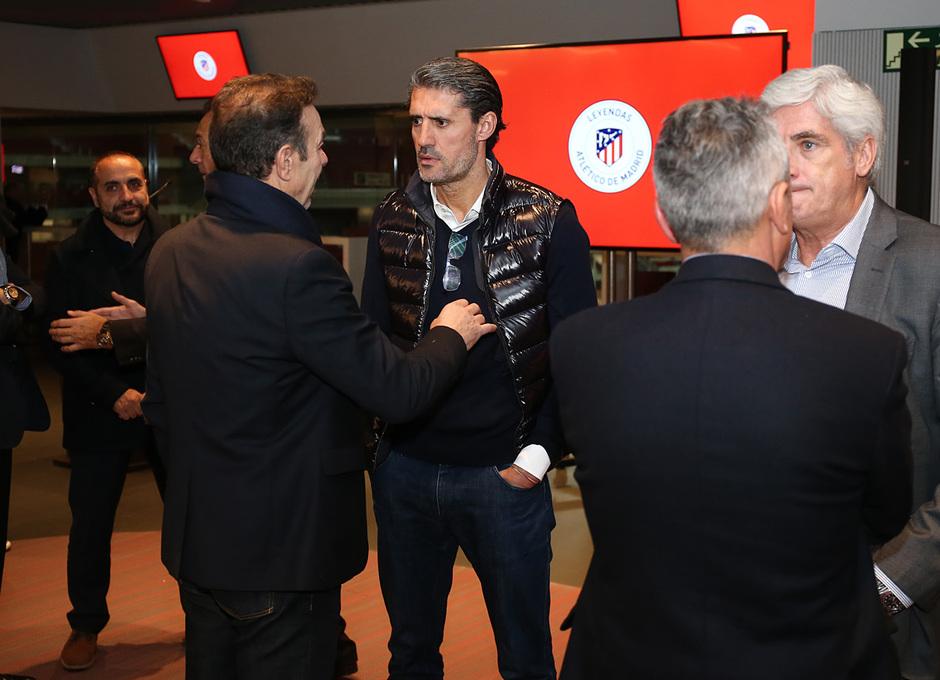 Temp. 17-18 | Cena Leyendas Atlético de Madrid en el Wanda Metropolitano | Caminero, Abel, Clemente Villaverde