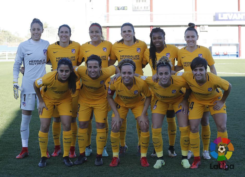 Temp. 17-18 | Levante - Atlético de Madrid Femenino | Once