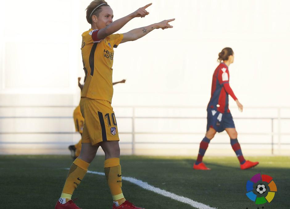Temp. 17-18 | Levante - Atlético de Madrid Femenino | Amanda