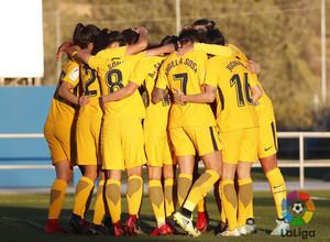 Temp. 17-18 | Levante - Atlético de Madrid Femenino | Piña