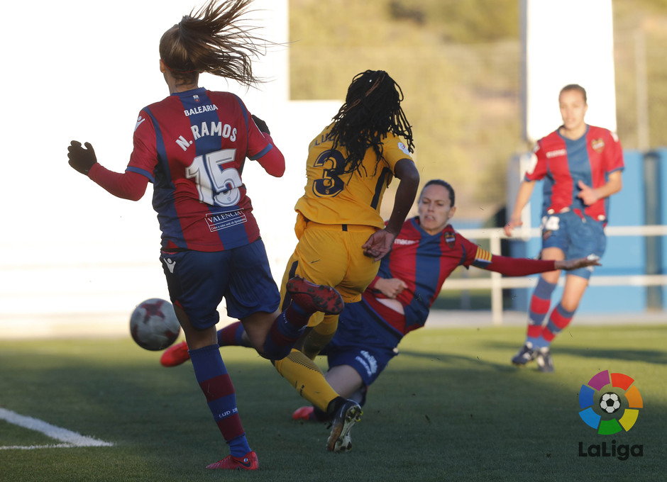 Temp. 17-18 | Levante - Atlético de Madrid Femenino | Ludmila
