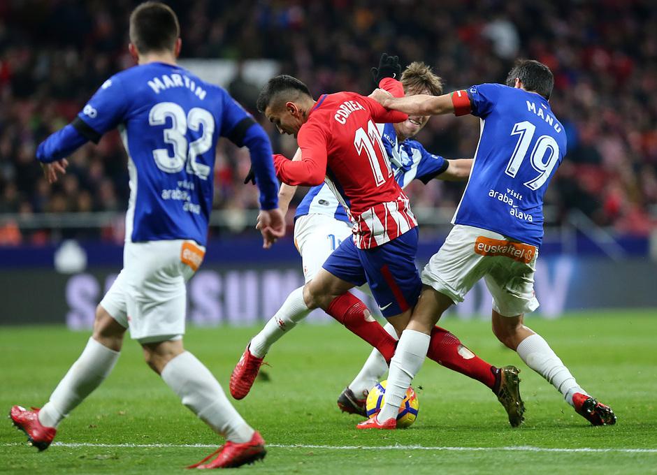 Temp. 17-18 | Atlético de Madrid-Alavés | Correa