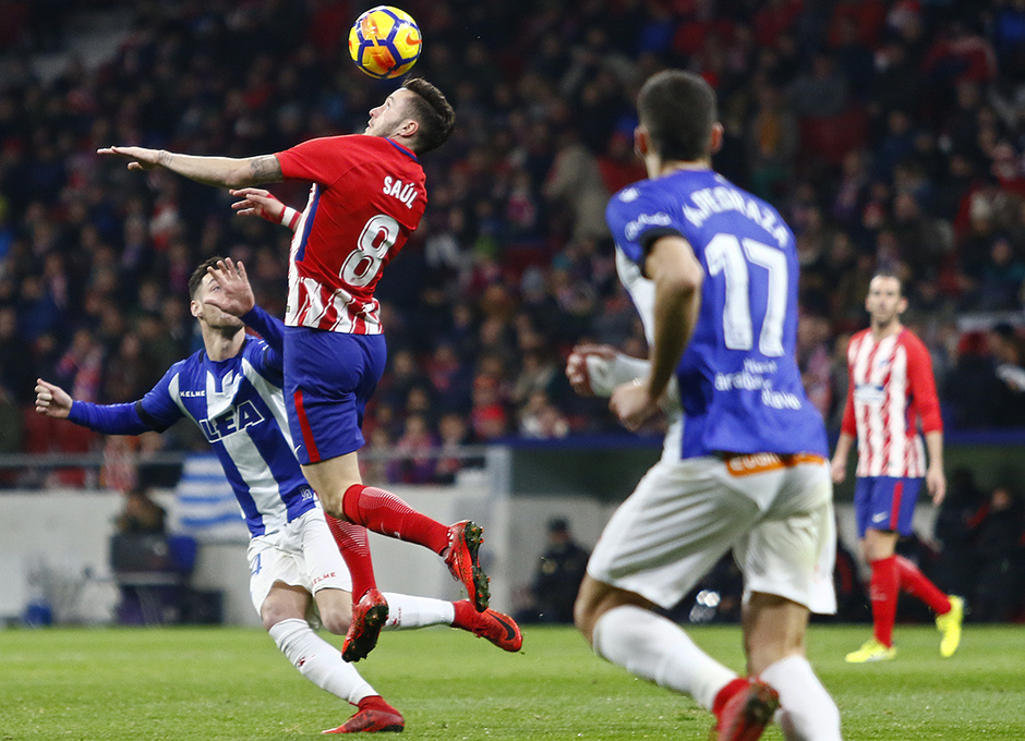 Temp. 17-18 | Atlético de Madrid-Alavés | Saúl
