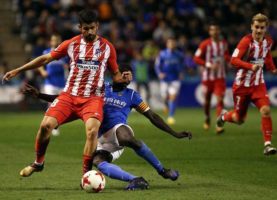 Temp. 17-18 | Copa del Rey | Lleida - Atlético de Madrid | Diego Costa