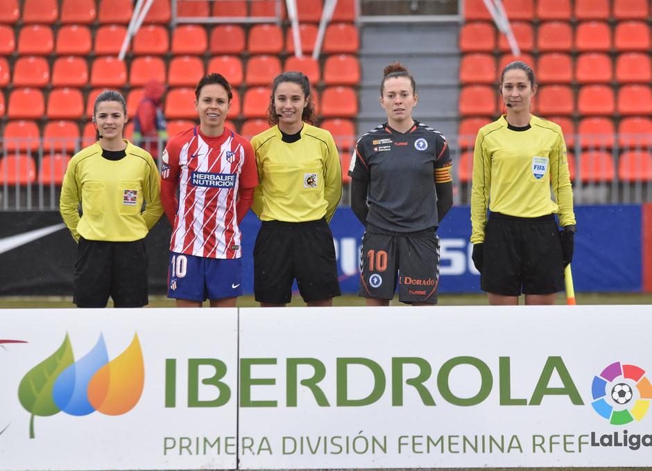 Temp. 17-18 | Atlético de Madrid Femenino - Zaragoza | Capitanas