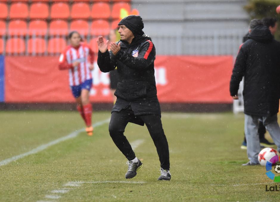 Temp. 17-18 | Atlético de Madrid Femenino - Zaragoza | Villacampa