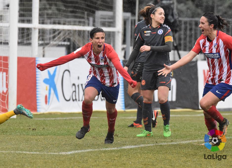 Temp. 17-18 | Atlético de Madrid Femenino - Zaragoza | Sonia