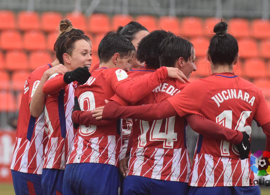 Temp. 17-18 | Atlético de Madrid Femenino - Zaragoza | Piña
