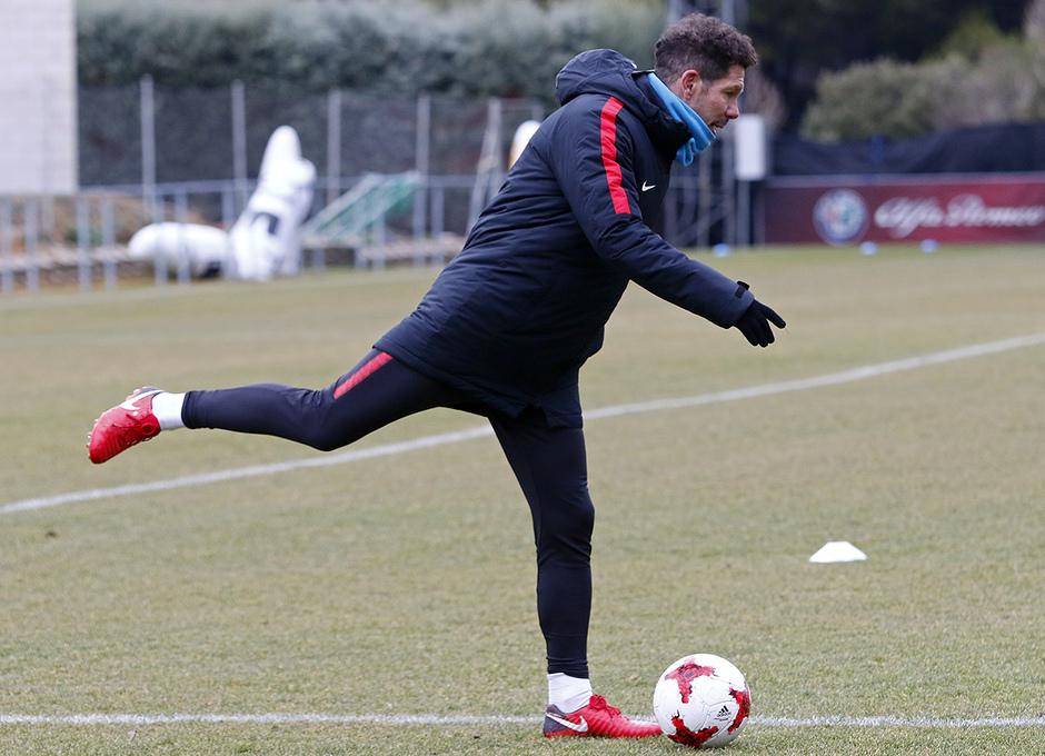 Entrenamiento 07/01/2017 | Primer equipo | Simeone