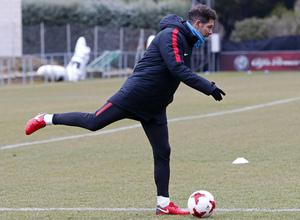 Entrenamiento 07/01/2017   Primer equipo   Simeone