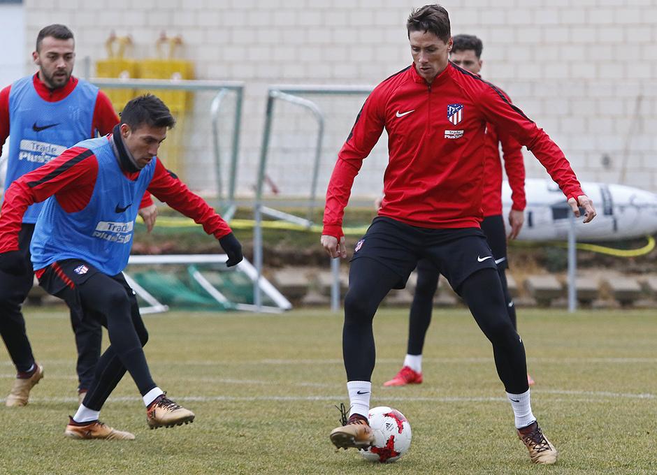 Entrenamiento 07/01/2017 | Primer equipo | Torres