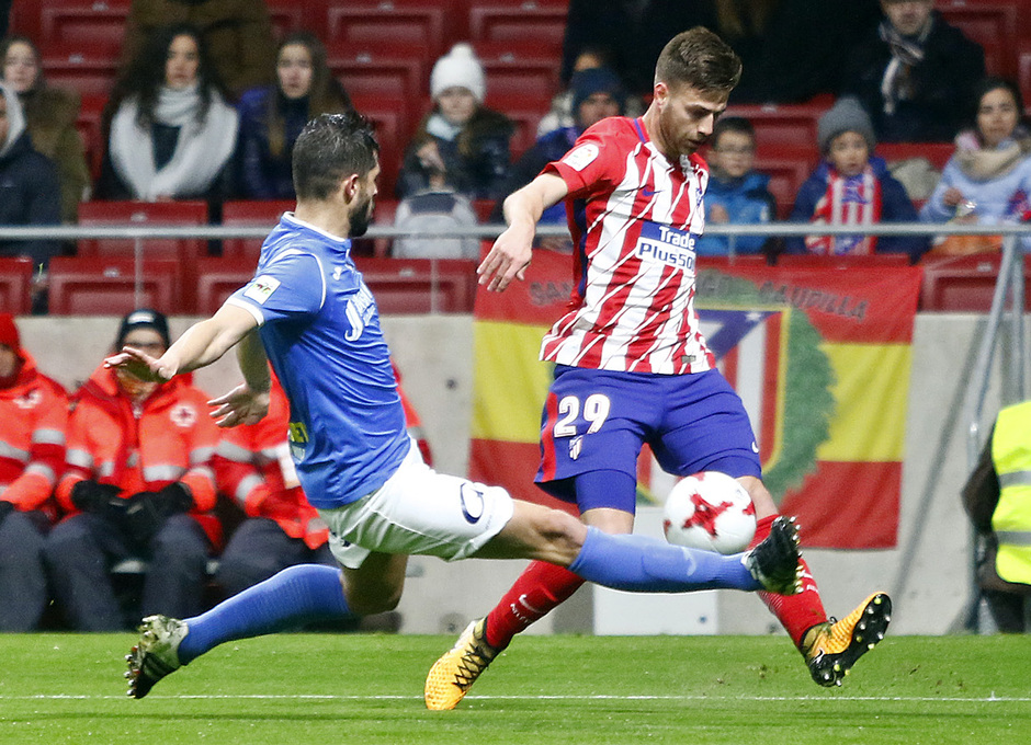 Temp. 17-18 | Atlético de Madrid - Lleida | Sergi