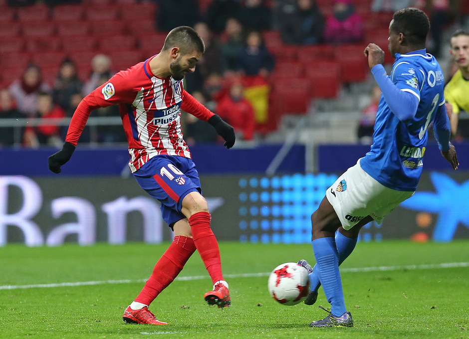 Temp. 17-18 | Atlético de Madrid - Lleida | Carrasco