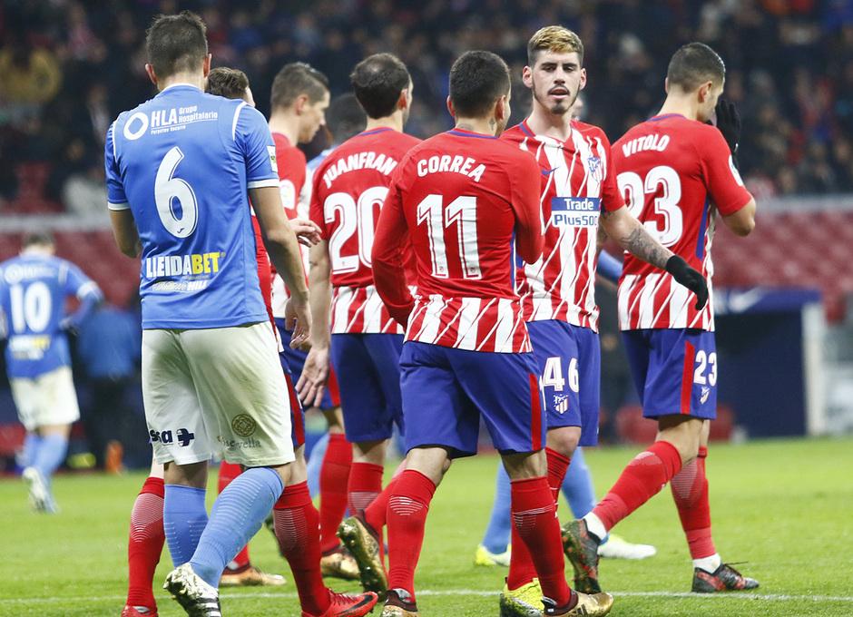 Temp. 17-18 | Atlético de Madrid - Lleida | Montoro