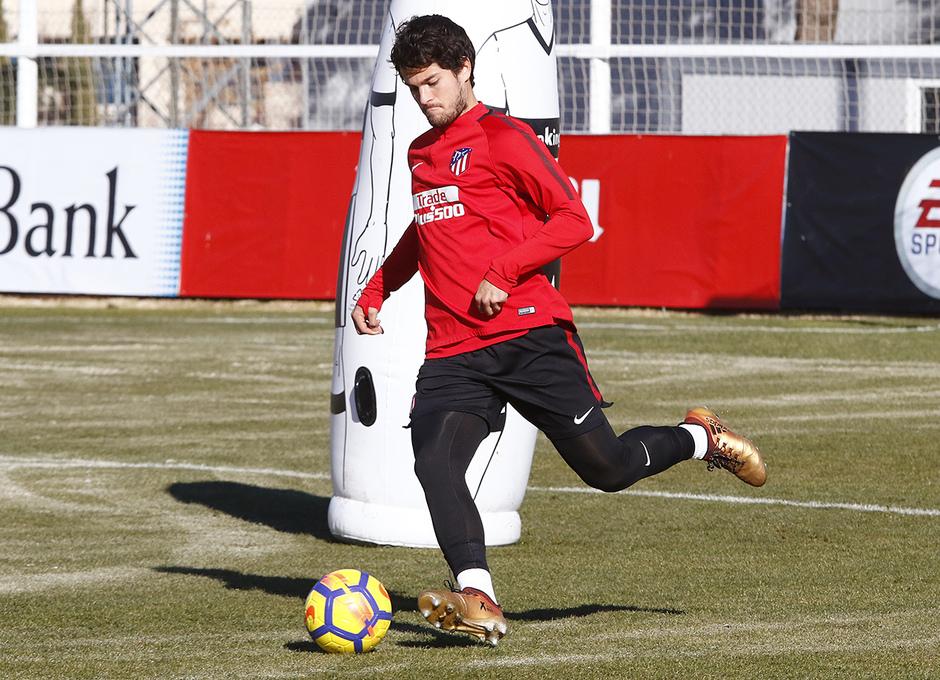 Temporada 17/18 | Entrenamiento en la Ciudad Deportiva Wanda | 11/01/2018 | Olabe