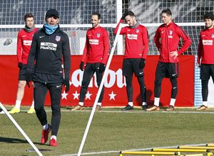 Temporada 17/18 | Entrenamiento en la Ciudad Deportiva Wanda | 11/01/2018 | Simeone