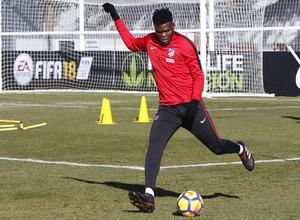 Temporada 17/18 | Entrenamiento en la Ciudad Deportiva Wanda | 11/01/2018 | Thomas