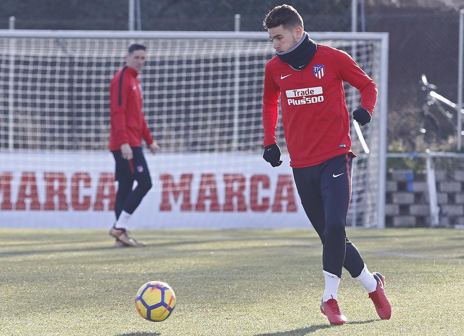Temporada 17/18 | Entrenamiento en la Ciudad Deportiva Wanda | 12/01/2018 | Lucas