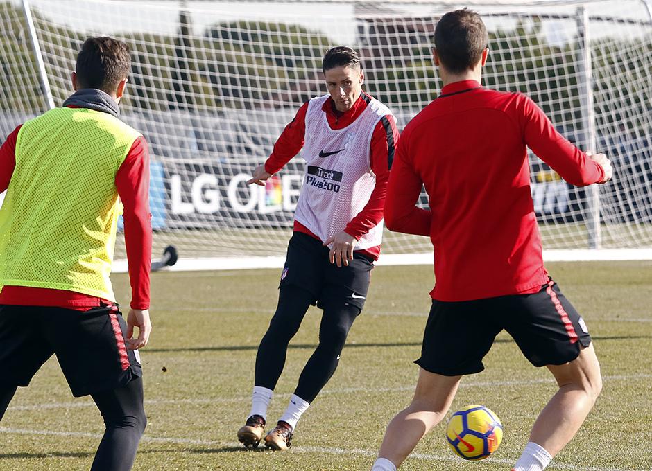 Temporada 17/18 | Entrenamiento en la Ciudad Deportiva Wanda | 12/01/2018 | Torres