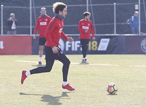 Temporada 17/18   Entrenamiento en la Ciudad Deportiva Wanda   12/01/2018   Vrsaljko