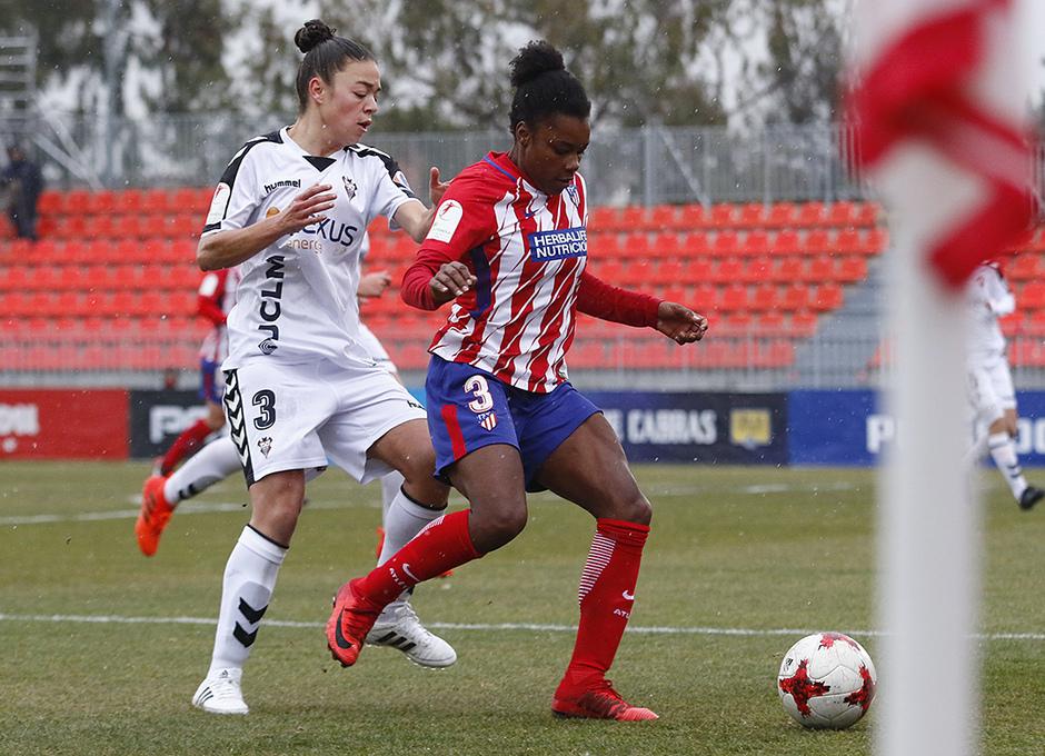 Temp. 17-18 | Atlético de Madrid Femenino - Fundación Albacete | Ludmila