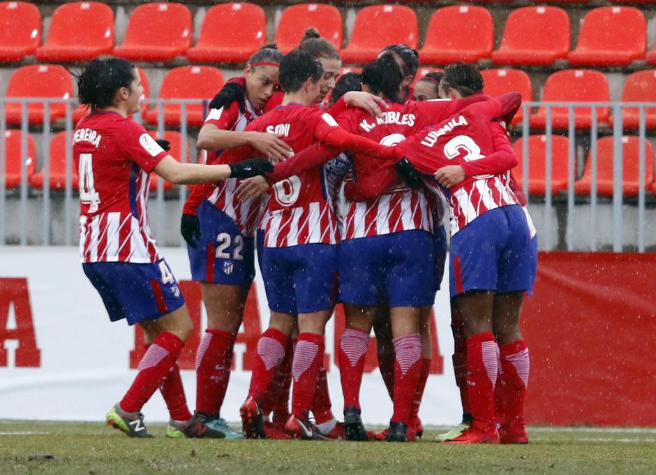 Temp. 17-18 | Atlético de Madrid Femenino - Fundación Albacete | Celebración