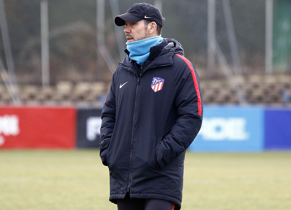 Temporada 17/18 | Entrenamiento 14/01/2018 | Simeone