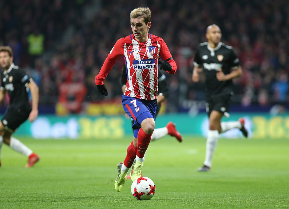 Temp. 17-18 | Copa del Rey | Atleti-Sevilla | Griezmann