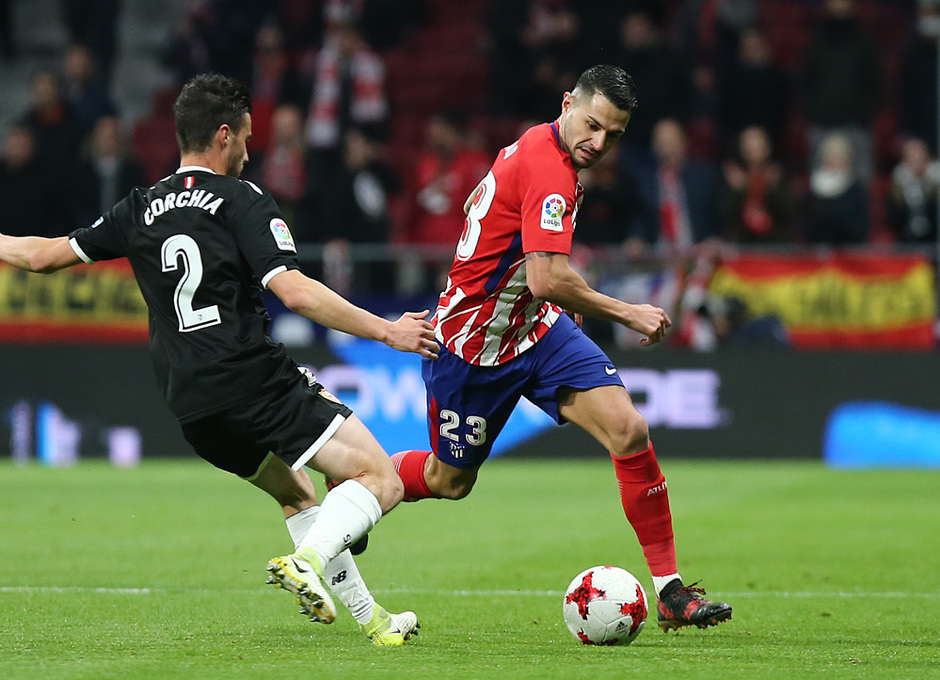 Temp. 17-18 | Atlético de Madrid - Sevilla | Ida Copa del Rey | Vitolo