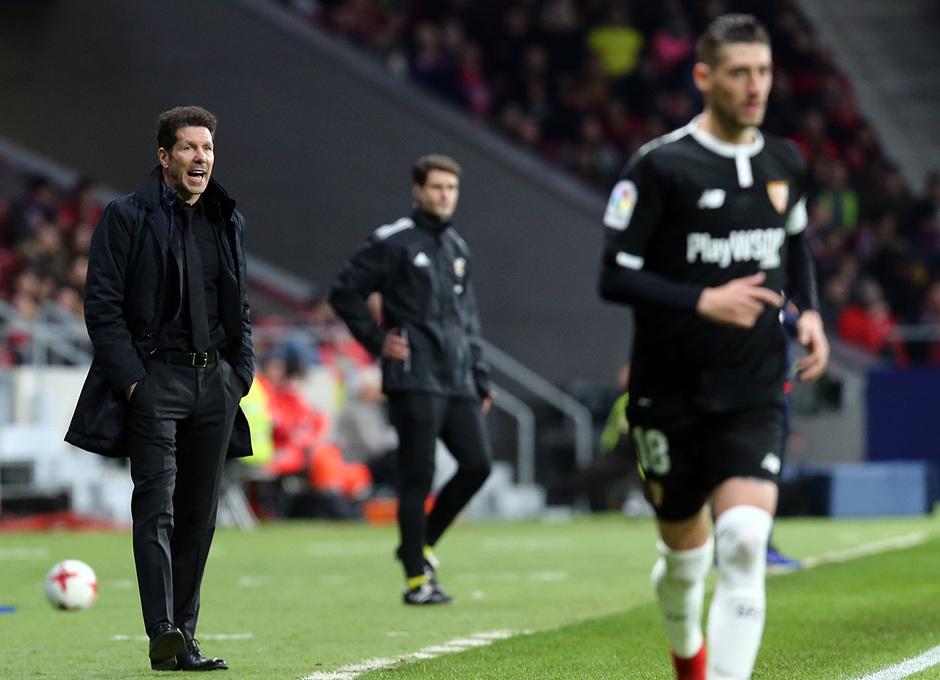 Temp. 17-18 | Atlético de Madrid - Sevilla | Ida Copa del Rey | Simeone