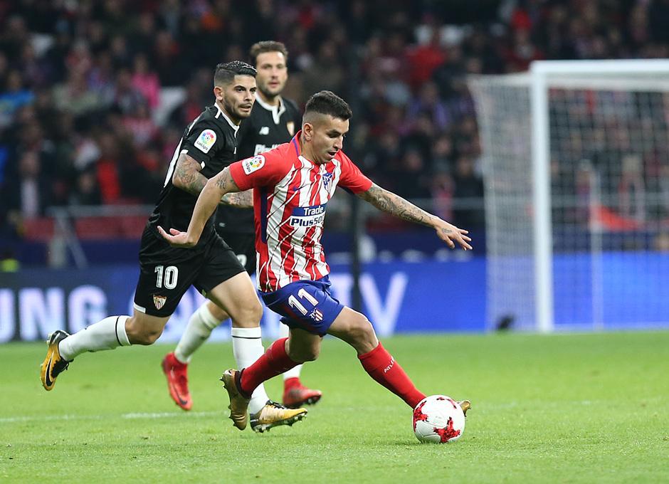 Temp. 17-18 | Atlético de Madrid - Sevilla | Ida Copa del Rey | Correa