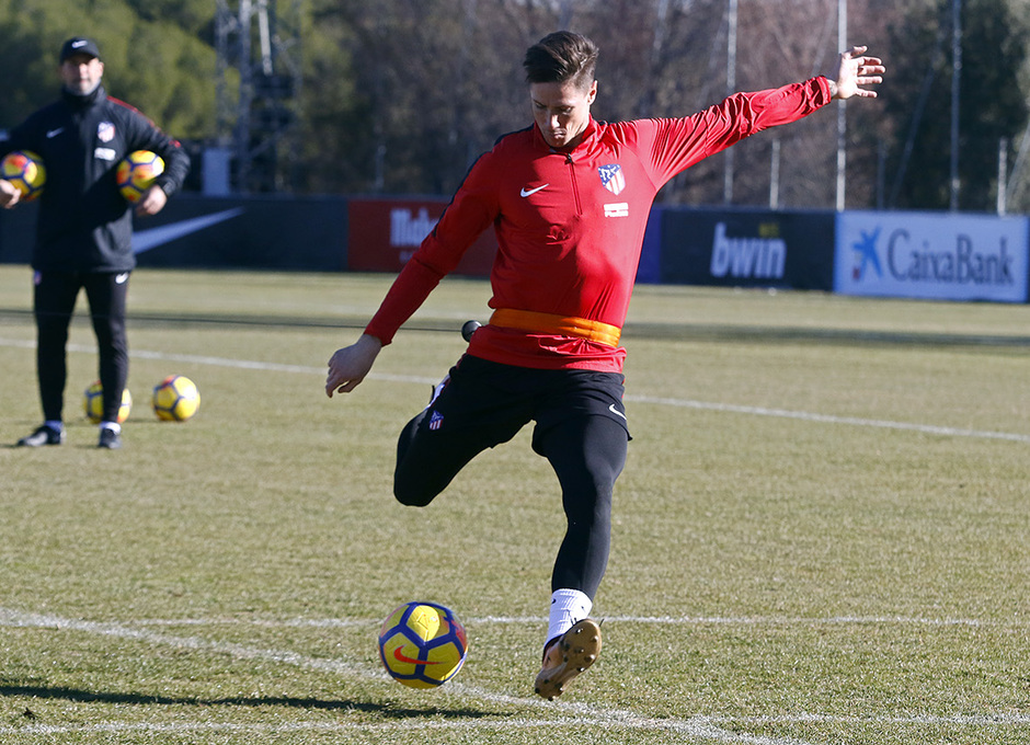Temporada 17/18 | Entrenamiento primer equipo | 18/01/2018 | Torres