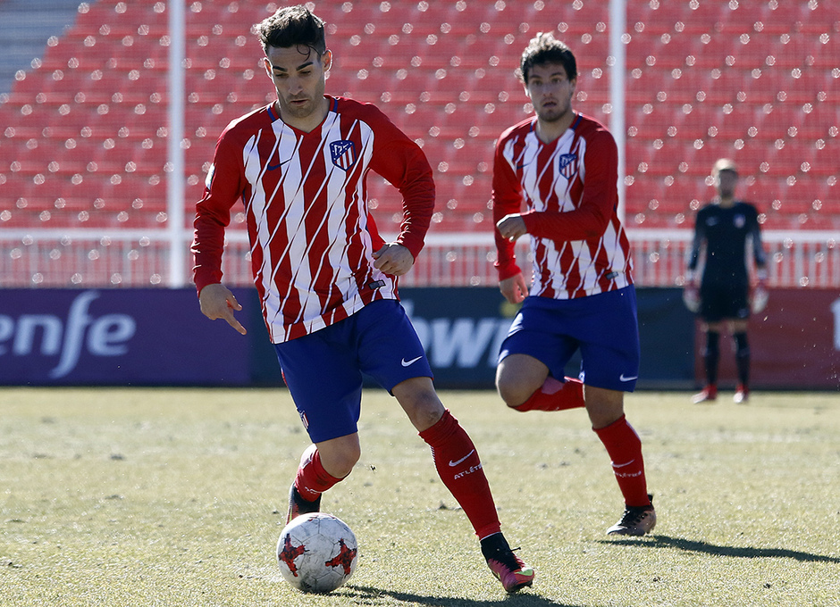 Temporada 17/18 | Atlético B - Valladolid B | Jorge Ortiz